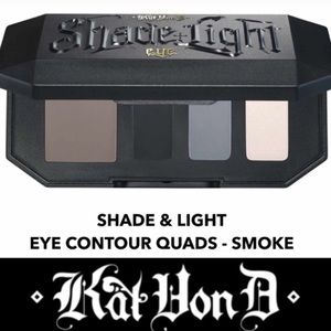 KVD Shade & Light Eyeshadow Quads / smoke